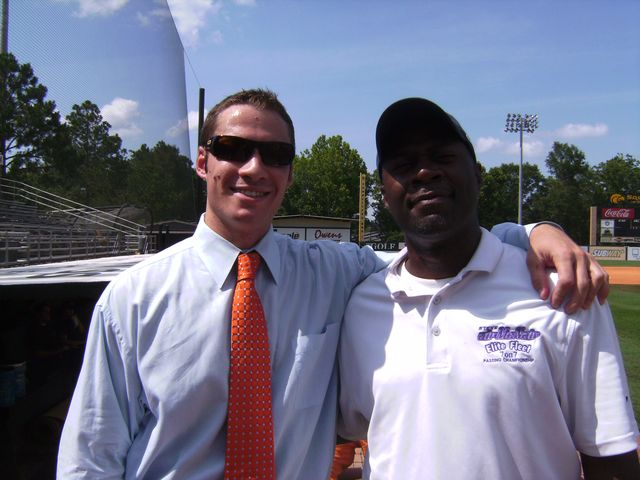 Broadcast mentor Mitchell Williams